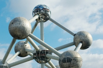 Atomium te Brussel (BE)